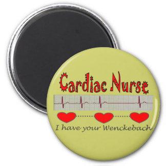 Cardiac Nurse T-shirts and Gifts Refrigerator Magnet