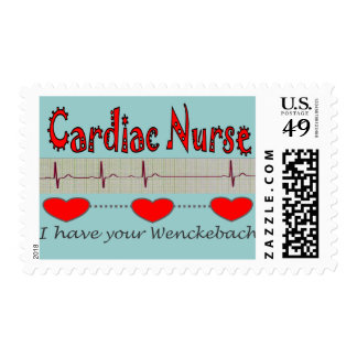 Cardiac Nurse T-shirts and Gifts Postage