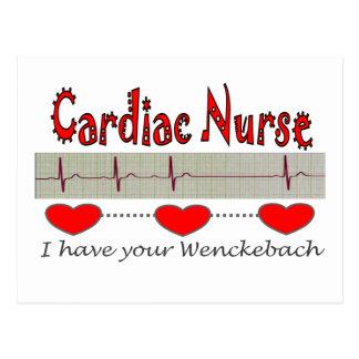 Cardiac Nurse T-shirts and Gifts Postcard
