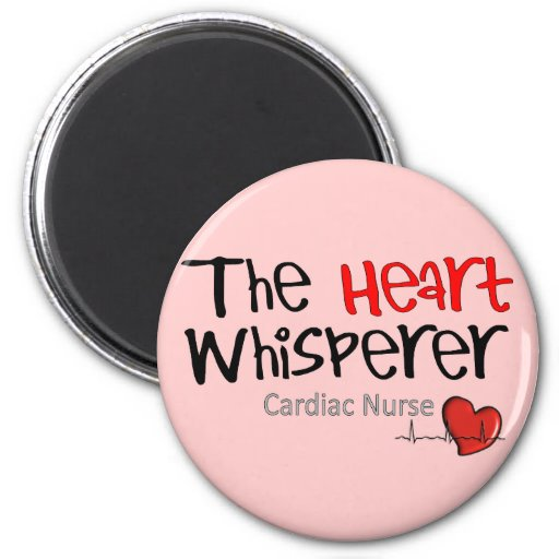 Cardiac Nurse T-Shirts & Gifts 2 Inch Round Magnet