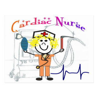 Cardiac Nurse  Unique and Adorable Gifts Postcard