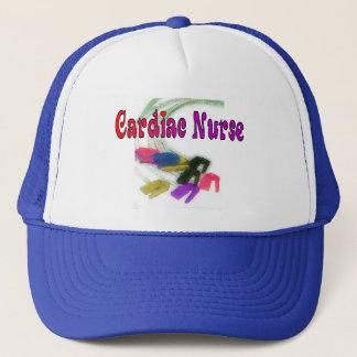 Cardiac Nurse Watercolor Art Gifts Trucker Hat