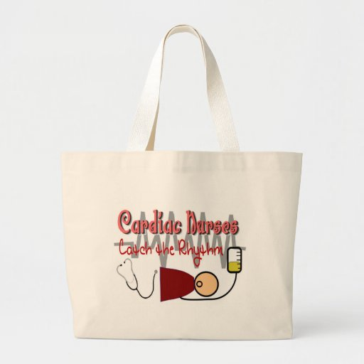 "CARDIAC NURSES ""CATCH the RHYTHM"" Bag"