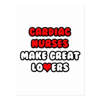 Cardiac Nurses Make Great Lovers Postcard