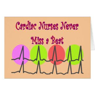 Cardiac Nurses NEVER Miss a Beat! Card