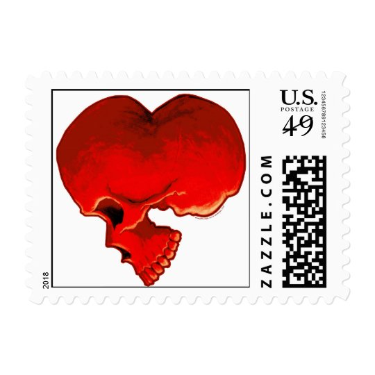 Cardiac Postage Stamp