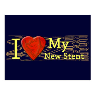 Cardiac Recovery Gifts | Stent T-shirts Postcard
