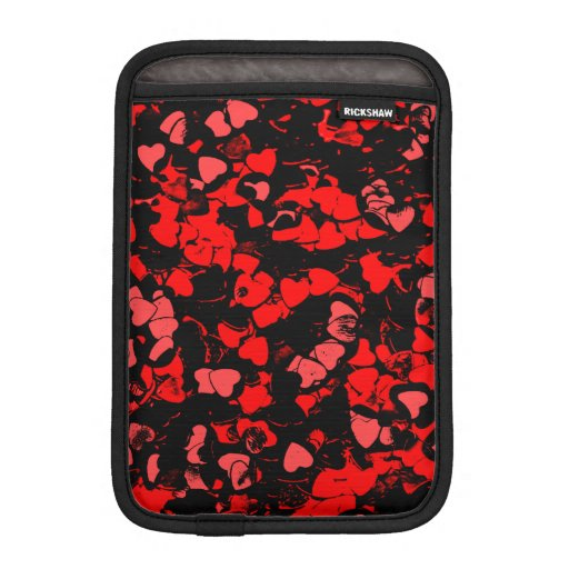 Cardiac, red iPad mini sleeve
