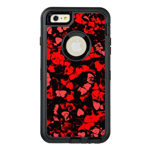 Cardiac, red OtterBox defender iPhone case