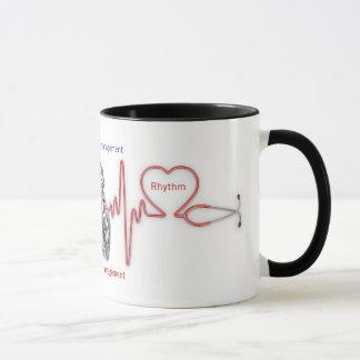 cardiac rhythm management : HEART RHYTHM Mug