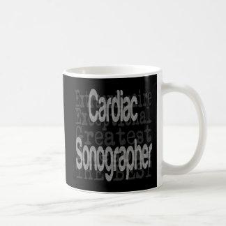 Cardiac Sonographer Extraordinaire Coffee Mug