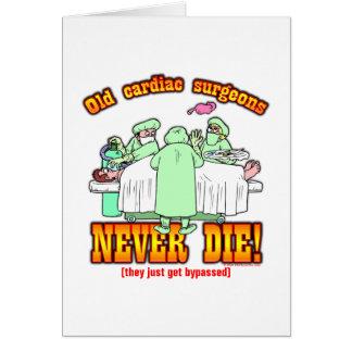 Cardiac Surgeons Card