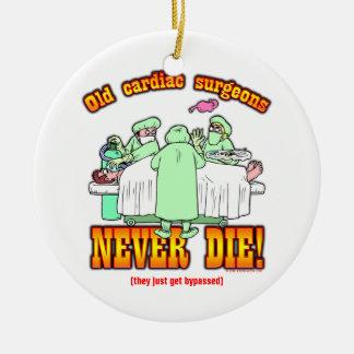 Cardiac Surgeons Ceramic Ornament