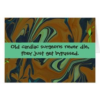 cardiac surgeons humor greeting cards