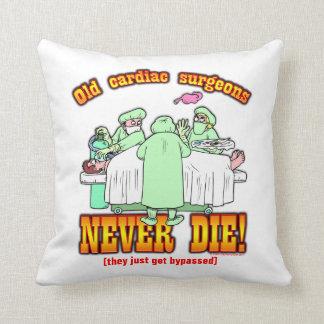 Cardiac Surgeons Throw Pillow