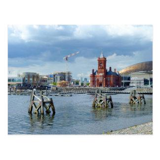 Cardiff Bay, Cardiff, Wales Postcard