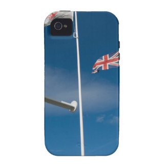Cardiff Bay Flags iPhone 4 Cover