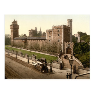 Cardiff Castle I, Cardiff, Wales Postcard