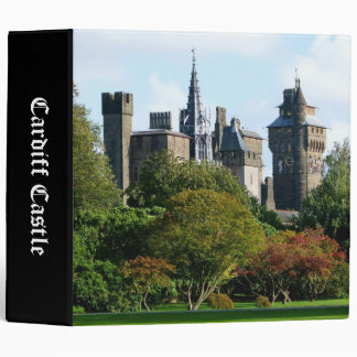 Cardiff Castle II (2in) 3 Ring Binder