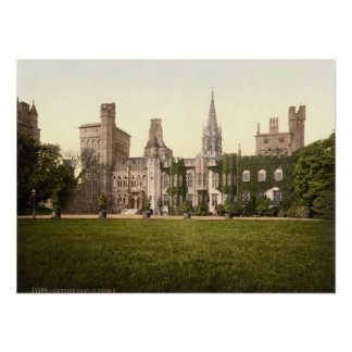 Cardiff Castle II, Cardiff, Wales Poster
