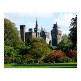 Cardiff Castle II Postcard