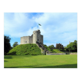 Cardiff Castle Keep II Postcard
