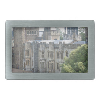 Cardiff Castle Rectangular Belt Buckle