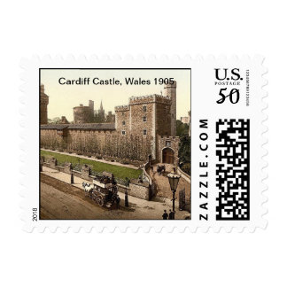 Cardiff Castle, Wales 1905 Postage