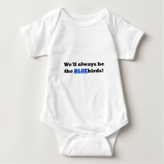 Cardiff City - We'll always be the BLUEbirds Baby Bodysuit
