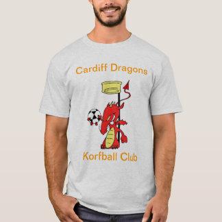 Cardiff Dragons Korfball Mens T-shirt White