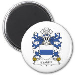 Cardiff Family Crest Refrigerator Magnets