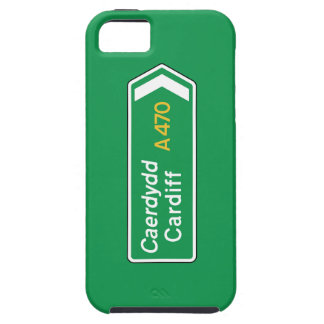 Cardiff UK Road Sign Cover For iPhone 5/5S