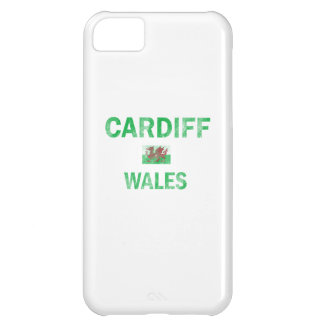 Cardiff Wales Designs Case For iPhone 5C