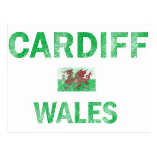 Cardiff Wales Designs Postcard