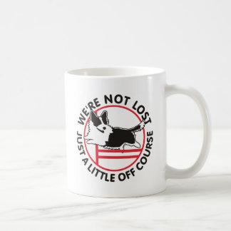 Cardigan Corgi Agility Off Course Coffee Mug