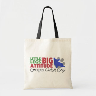Cardigan Little Legs Tote Bags