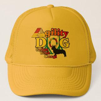 cardigan welsh corgi agility gifts trucker hat