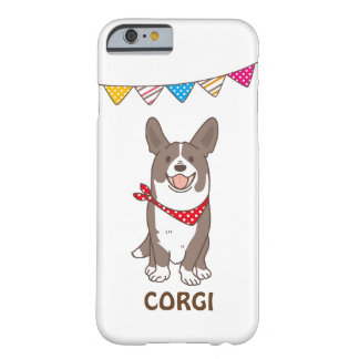 cardigan welsh corgi barely there iPhone 6 case