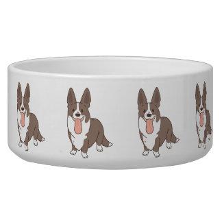 cardigan welsh corgi bowl