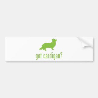 Cardigan Welsh Corgi Bumper Sticker