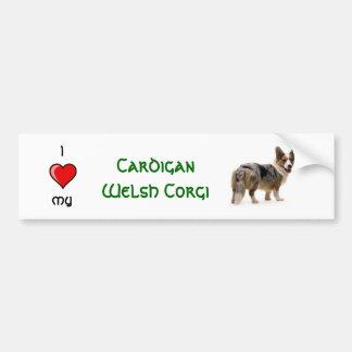 Cardigan Welsh Corgi Car Bumper Sticker