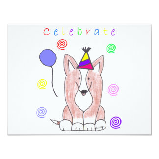 Cardigan Welsh Corgi Celebrate Card