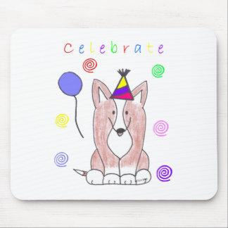 Cardigan Welsh Corgi Celebrate Mouse Pad