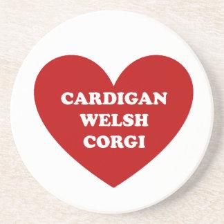 Cardigan Welsh Corgi Beverage Coaster