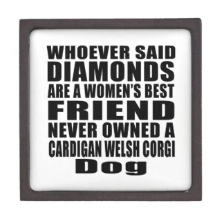 CARDIGAN WELSH CORGI DOG BEST FRIEND DESIGNS JEWELRY BOX