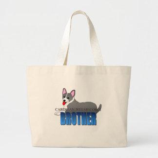 Cardigan Welsh Corgi Dog Brother Tote Bag