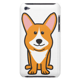 Cardigan Welsh Corgi Dog Cartoon Barely There iPod Cover
