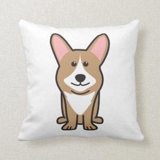Cardigan Welsh Corgi Dog Cartoon Pillow