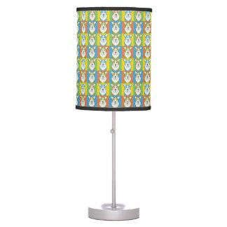Cardigan Welsh Corgi Dog Cartoon Pop-Art Table Lamp