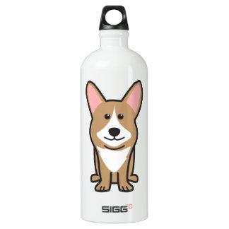 Cardigan Welsh Corgi Dog Cartoon SIGG Traveler 1.0L Water Bottle